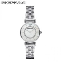 EMPORIO ARMANI AR1908 女士钢带腕表 32mm