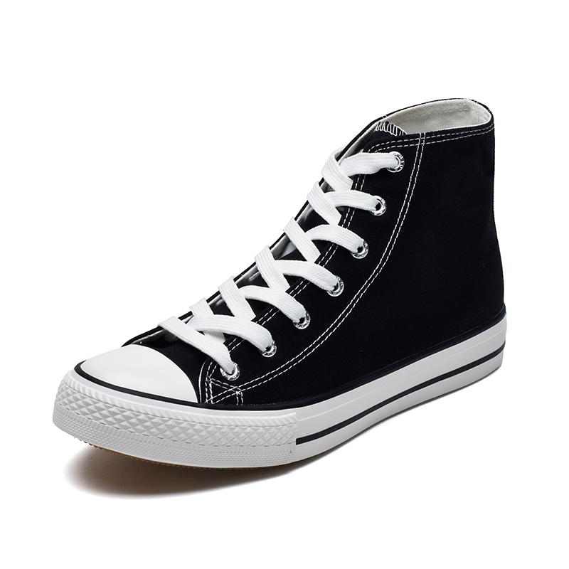 WARRIOR 回力 WXY-473T 男女鞋高帮情侣休闲运动帆布板鞋小白鞋