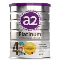 A2 艾尔 白金婴儿奶粉 4段 900g 3罐