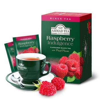 AHMAD 亚曼 英式果味红茶覆盆子 2g*20包