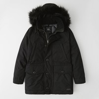 历史低价、反季特卖:Abercrombie&Fitch 301429 男士羽绒派克大衣