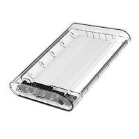 Orico/奧???2.5/3.5英寸移動硬盤盒外置外接讀取USB3.0臺式機筆記本固態機械硬盤硬盤底座透明盒水冷殼子