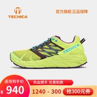 TECNICA泰尼卡山地越野跑鞋跑戶外運動徒步鞋登山越野跑鞋 女款:016青綠色-紫色 37.5(UK4.5)