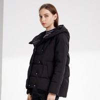 双11预售:BOSIDENG 波司登 B90141504DS 女士短款羽绒服
