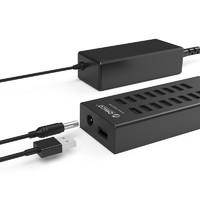 Orico/奧???16口USB分線器帶電源多接口擴展HUB電腦轉換高速集線器筆記本多功能轉接頭群控