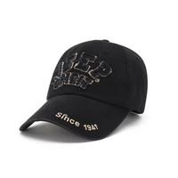 JEEP吉普男士棒球帽子純棉戶外運動休閑帽韓版時尚太陽帽