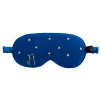 廣博(GuangBo)真絲透氣舒適睡眠遮光眼罩/午休旅行辦公用品 晚安款男女通用款NC2861 *5件