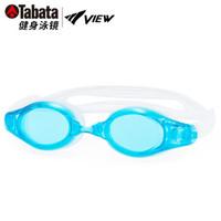 TABATA VIEW泳鏡高清防霧游泳眼鏡大框男女士專業健身休閑裝備 AM/水藍色 *2件