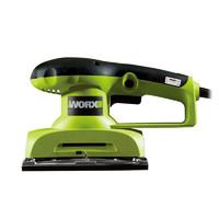 威克士砂光機木材拋光打磨機WU639 木工墻面砂紙機砂磨機電動工具