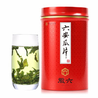 徽六 中華老字號 2019新茶茶葉綠茶 六安瓜片180g/罐安徽春茶 *2件
