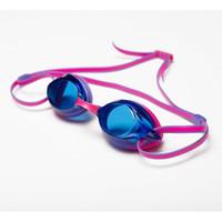 飄(FEW) FEW飄新款游泳鏡高清防水防霧眼鏡男士女士泳鏡游泳眼鏡F19 04紫拼紅 *16件