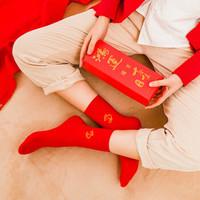 卡同 本命年男/女款棉襪  6雙裝