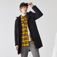 森馬冬裝潮流長款保暖男式時尚連帽羽絨服