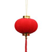 Haoin/一浩然  大紅植絨喜慶小燈籠掛飾