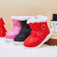 gb 好孩子 儿童雪地靴
