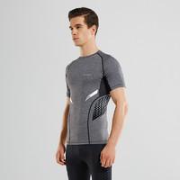 考拉工廠店 男式梯度壓縮短袖T恤