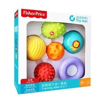 Fisher-Price 費雪 嬰兒玩具球 六合一套裝