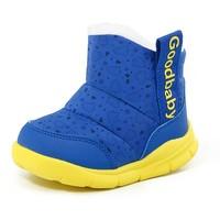 限尺码:gb 好孩子 儿童加厚短靴