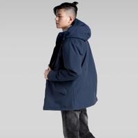 京东PLUS会员、限L码:Levi's 李维斯 21214-0001 男士连帽夹棉服