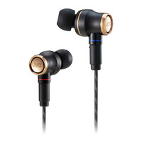JVC 杰伟世 HA-FW1800 签名限量版发烧木振膜入耳式耳机 漆黑