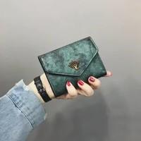 女士PU零钱包 12*10*1.5cm 多款多色可选