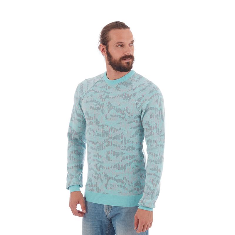 MAMMUT/猛犸象 男士奴羊毛保暖修身抓绒衣毛衣
