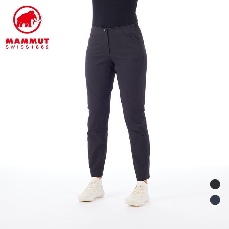 MAMMUT 猛犸象 女士弹力透气强韧耐磨软壳长裤
