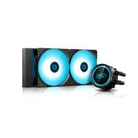 九州風神 水元素120/240RGB 水冷散熱器 臺式機靜音泄壓冷排360RGB