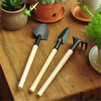 杏花天 迷你三件套 園藝三件套工具鏟鍬耙 園林用具家庭盆栽植物專用種花多肉必備