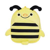 KAMIDA 咔米嗒 毛絨雙肩包 蜜蜂款