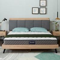 历史低价:QuanU 全友 105171 椰棕弹簧床垫 1.5*2*0.21m