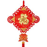 中國結掛件 客廳玄關背景掛飾元旦新年裝飾喜慶禮品