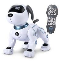 DEERC智能機器狗兒童玩具狗電動遙控早教機器人 男孩女孩陪伴寵物狗小孩教育故事機編程感應唱歌跳舞電子寵物+湊單品