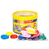 得力(deli)超輕魔趣兒童8色輕型粘土套裝/手工DIY彩泥套裝 3D彩泥粘土玩具6450