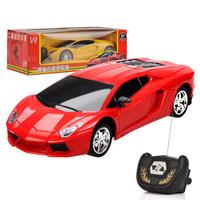 mpouka 兒童遙控汽車玩具 紅黃隨機發