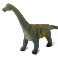 中杰銘玩具 兒童玩具腕龍恐龍模型可發聲軟膠款45CM斜長中號恐龍玩具仿真動物-507A *2件