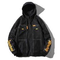 INTERIGHT WSL-560-1 男士连帽夹克外套 *3件