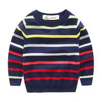 印象童年1-8歲春裝新款男童童裝兒童針織衫 *3件