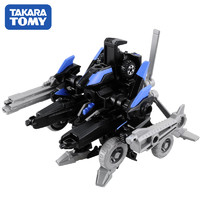 日本TOMY多美卡拼插模型男孩玩具變形裝甲車855439含小車1輛