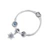 PANDORA潘多拉成品手鏈 凝霜掠影 925銀時尚串珠成品手鏈 ZH-010