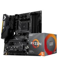 AMD銳龍 R7 3700X 華碩TUF B450M-PLUS GAMING主板 銳龍 R7 3700X 主板套裝