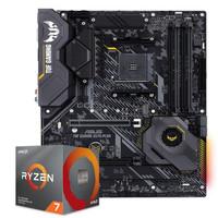 AMD 3700X AMD 銳龍 Ryzen 3700X 處理器 + ASUS 華碩 TUF GAMING X570-PLUS 主板