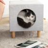 小獸星 寵物貓窩換鞋凳