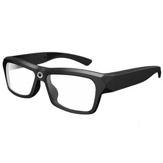 迈能(leapower) 谷歌智能摄像眼镜1080P录音录像拍照影音同步可换近视镜片 黑色镜框 升级版(含32G TF卡)