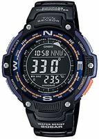 Casio Casio SGW100-2B 雙傳感器數字羅盤/溫度計手表