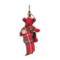 京東PLUS會員 : BURBERRY 巴寶莉 80011481 泰迪熊造型鑰匙扣
