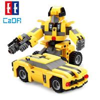 CaDA 咔搭 积木机器人系列  C52020 大黄蜂汽车人 267颗粒