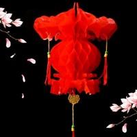 玲瓏鳥 小紅燈籠掛飾 37*20cm