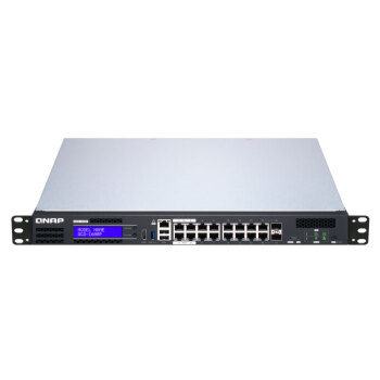 QNAP 威联通 QGD-1600P-8G 交换机