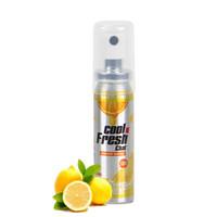 樂語(COOL N FRESH)口腔噴霧20ml 檸檬味(口氣清新劑 口腔便攜式噴霧劑 英國) *2件+湊單品